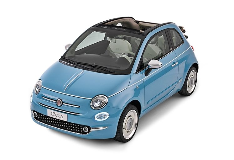 Fiat 500 Cabrio (automatic)